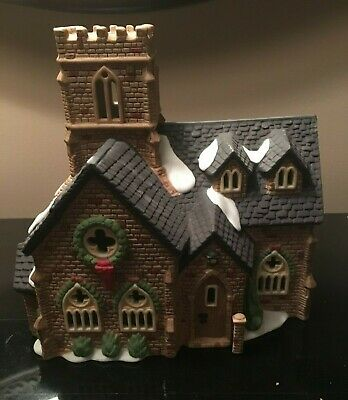 Dept 56 Dickens Village Series Knottinghill Church 1989 Collectible Christmas