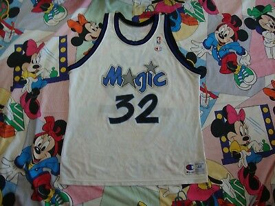 f13e1df20 VINTAGE SHAQUILLE O NEAL Orlando Magic Champion NBA Jersey Blue 90s ...