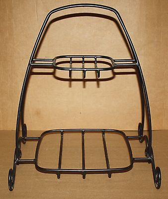 Longaberger 2005 Metal Wrought Iron Two Tier Holiday Stand