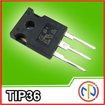 TIP36C TRANSISTOR 100V 25A 125W Amplificatore switcing PNP