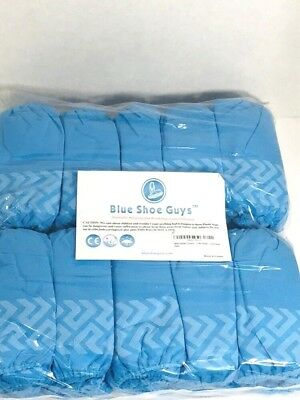 Premium 100 Pairs Disposable Boot & Shoe Covers - Durable, Water Resistant