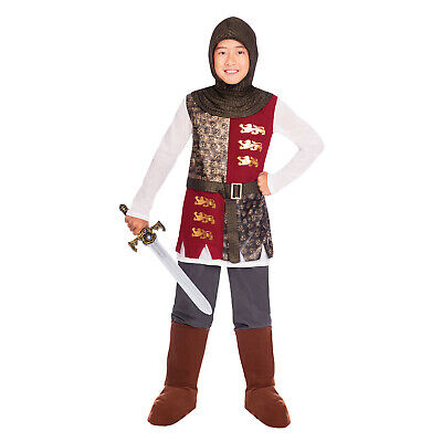 Amscan Valiant Knight Costume - Age 6-8 Years