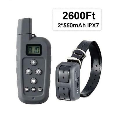 HASGIA Dog Training Collar, Waterproof Rechargeable 2600 ft Remote Shock...