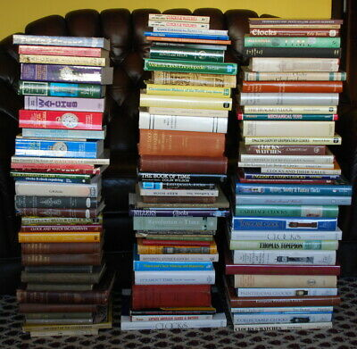 Books with clocks of 100 pieces