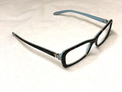 2c6d8bf32a4a NEW TIFFANY   Co. Eyeglasses TF2091-B 8134 Tortoise Blue Italy 53 16 ...