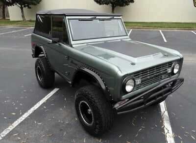 1971 Ford Bronco  1971 Restomod Ford Bronco 5.0 fuel-injected Mustang engine