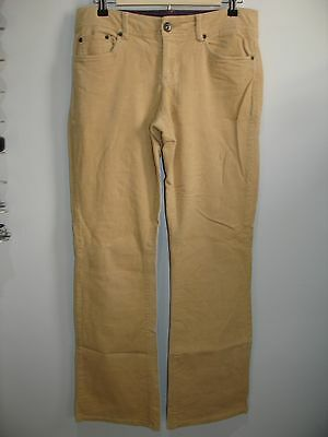 Tommy Hilfiger Womens Size 6(33X31) Tan/Yellowish Corduroy Pants Stretch 14-9211