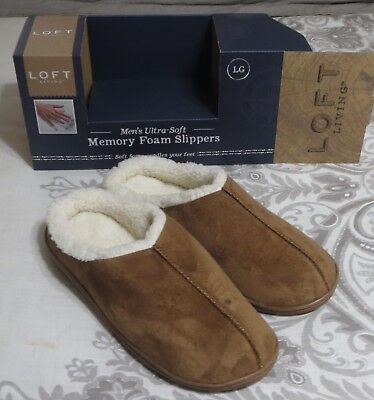 bbb198fb5 ... Shoes Black Slip On Memory Foam Backless Moccasin Bedroom Slippers.
