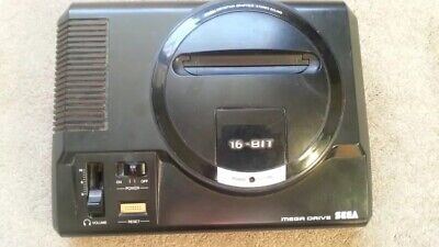 Sega Megadrive Console - Unit Only - Tested And Working