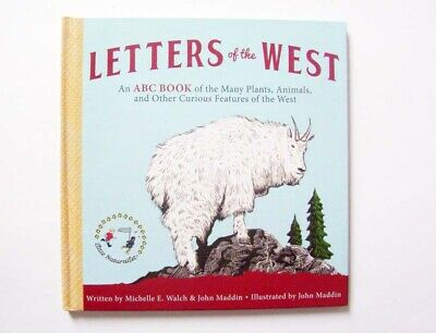 Letters Of The West, ABC Book of Animals, Plants & Other Features of The West