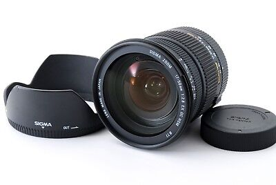 Sigma 17-50mm f/2.8 HSM EX DC Lens w/Hood For PENTAX Excellent+++ From Japan