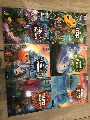 oxford reading tree Stage Level 7 Set 6 Books Book Band 7 Turquoise Children's