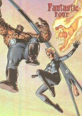 A9 #514 Gene Ha Ready for Action Fantastic 4 Four Archives Rittenhouse 2008