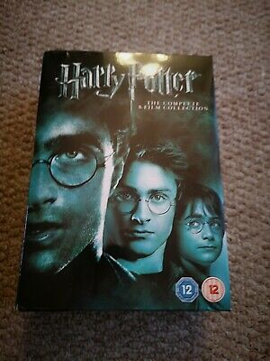 Harry Potter 1-8 Complete 8 Film Collection DVD BOX SET