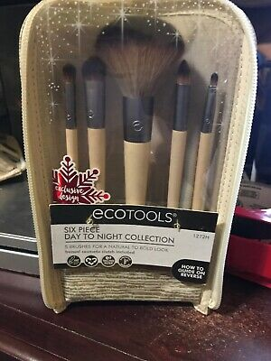 NWT Ecotools day to night set 5 piece brush lip concealer powder shadow smudge