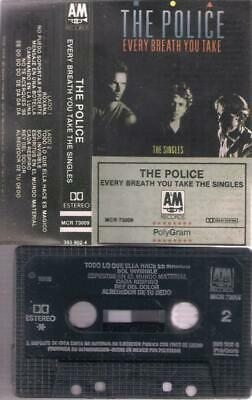 THE POLICE  Every breath you take the singles   RARE SPANISH CASSETTE  MEXICO