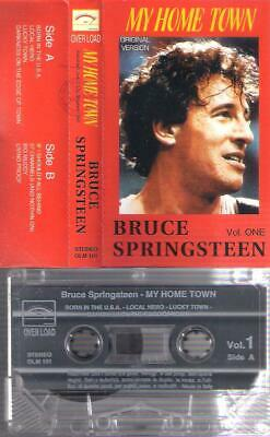 BRUCE SPRINGSTEEN My Home Town Vol  One RARE  ITALIAN CASSETTE ITALY  COLLECTORS