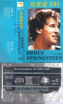 BRUCE SPRINGSTEEN My Home Town Vol Two RARE  ITALIAN CASSETTE ITALY  COLLECTORS
