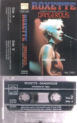 ROXETTE  Dangerous Live at Wembley 1991 RARE  ITALIAN  CASSETTE  ITALY