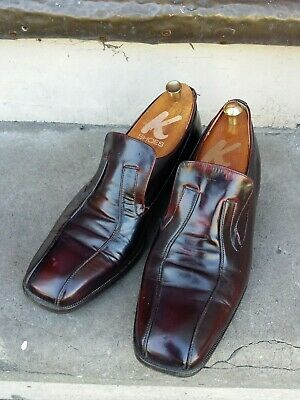Vintage Mid 1970s Dolcis Conker Brown Slip On Dandy Sweeney Loafers Shoes Size 9