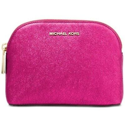 3da8cf2bb0b7b MICHAEL KORS COSMETIC Makeup Kit Travel Pouch Ultra Pink Clutch ...