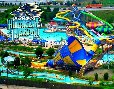 Six Flags Hurricane Harbor New Jersey One-Day-Ticket