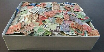 Great Britain - Vast Collection Of All Periods In Old Box - 7/8000+