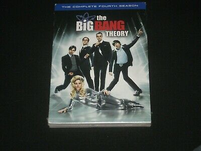 The Big Bang Theory: The Complete Fourth Season DVD Brand New Sealed