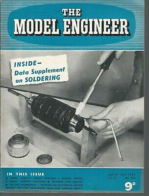 Model Engineer Magazine 1954 Half Year Vol.111 2772-2797 26 Issues
