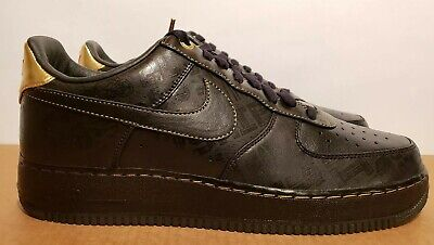 best service 76a3f c90fc Size 13 2011 NIKE AIR FORCE 1 LOW PRM BHM PREMIUM BLACK HISTORY MONTH NEW  Rare
