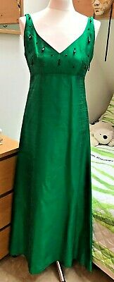 d5ba708d120 VINTAGE JEAN VARON Pale Green Dress Size 12 - £150.00