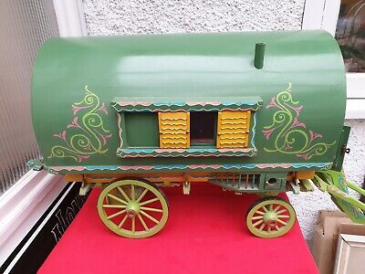 Antique Vintage Dolls House Caravan