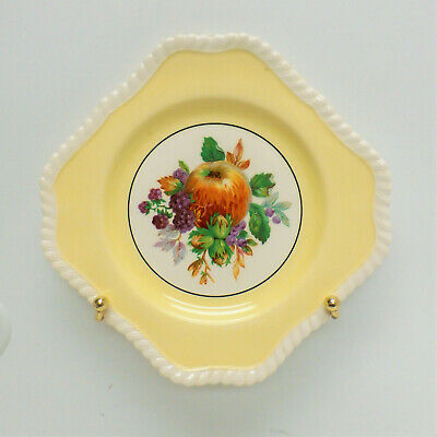 Old English Johnson Bros Yellow Fruit Plate Made In England AW
