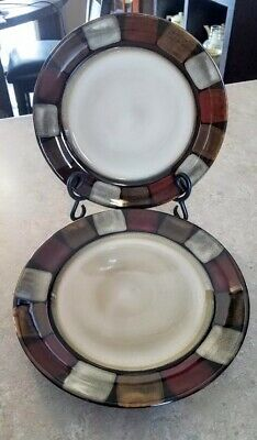 Pfaltzgraff Taos Set of 2 Salad Plates Excellent Condition
