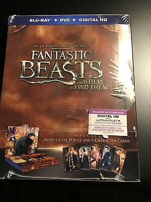 Fantastic Beasts & Where to Find Them (Blu-Ray/DVD, 2-disc)VG-1927-328-004