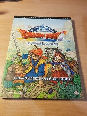 Dragon Quest VIII Journey of the Cursed King - Official Strategy Guide Piggyback