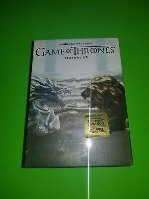 NEW Game of Thrones Complete Series Season (1-7) DVD,34-Disc set
