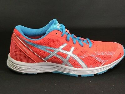 premium selection 0ad78 cd603 Asics Gel Hyper Speed 7 Women s Shoes Size 6.5 Flash Coral  White  Turquoise