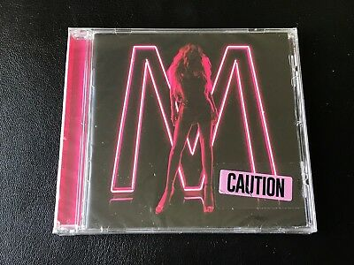 Mariah Carey - Caution - Rare Official Alternate Cd With Pink/black Cover