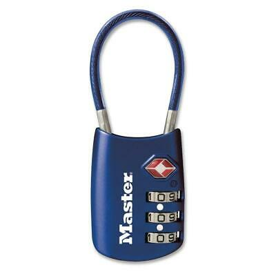 Master Lock Tsa Approved Combination Cable Travel Luggage Baggage