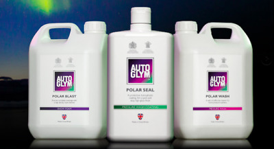 Autoglym **Polar Blast, Polar Wash & Polar Seal** Kit *Brand New In Stock*