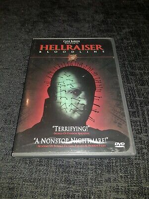 Hellraiser 4 Bloodline (DVD) Region 1 90s Horror