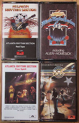 4x ATLANTA RHYTHM SECTION CASSETTE TAPES - ALL EX COND - COUNTRY ROCK