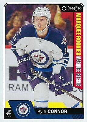 2016-17 O-Pee-Chee Marquee Rookies - Kyle Connor Rc #676