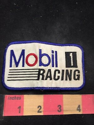 Car Race MOBILE 1 RACING Patch - Synthetic Motor Oil Sponsor 80NT