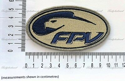 FPV Ford Performance Vehicles Logo Badge Embroidered Patch