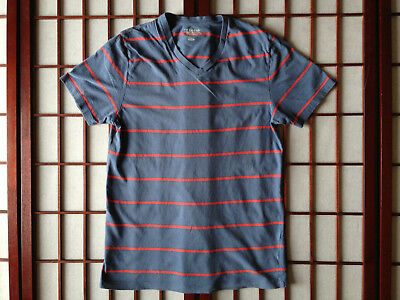 Old Navy Classic Blue Striped V Neck Top Womens Apparel Sze S/P/P Garment
