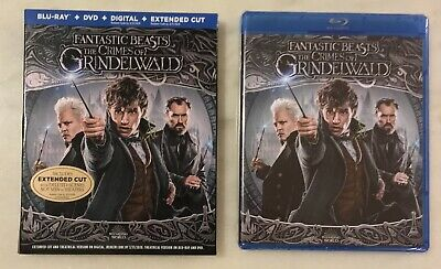 FANTASTIC BEASTS THE CRIMES OF GRINDELWALD (Blu-ray/DVD/Digital); NEW, SEALED