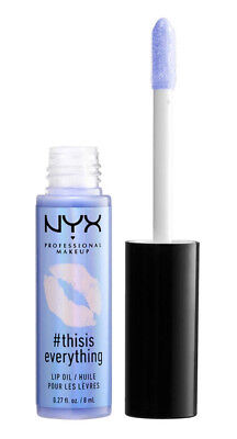 NYX #Thisis Everything Lip Oil, TIE003 Sheer Lavender