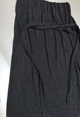 d0ca45f824 J CREW No Straps Tube Top Charcoal Gray Summer Sun Dress With Belt Womens  Size M